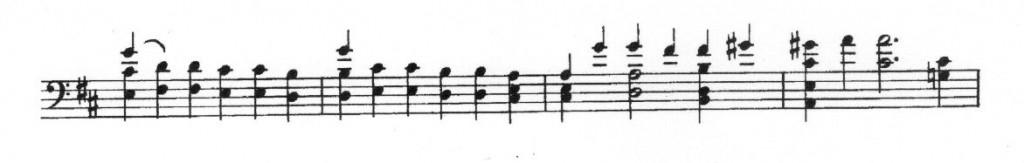 Sarab D-Dur Bindebögen- 005