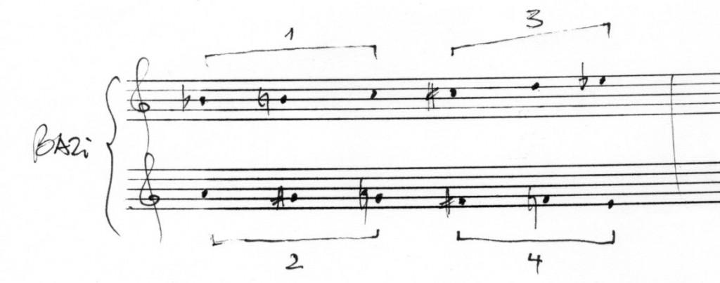 Tonreihe BAZi 003